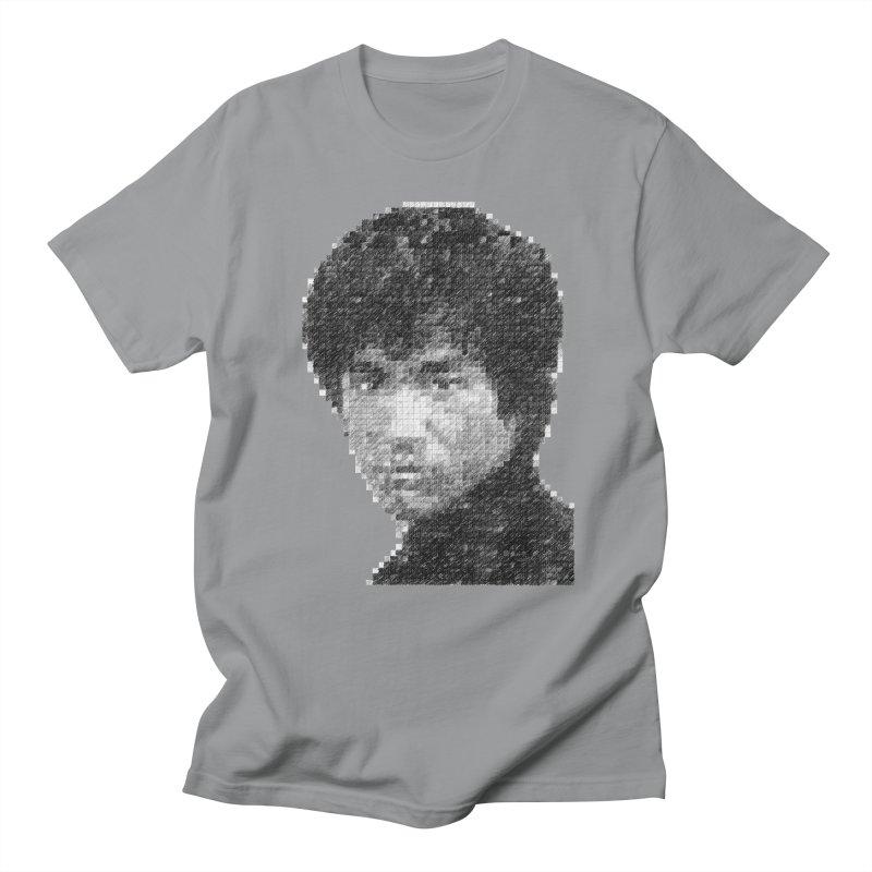 Bruce Lee (Positive Image) Men's T-shirt by dgeph's artist shop