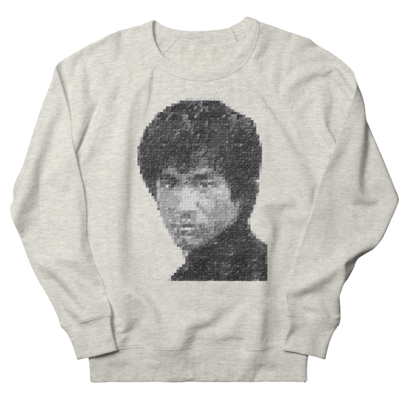 Bruce Lee (Positive Image) Women's Sweatshirt by dgeph's artist shop