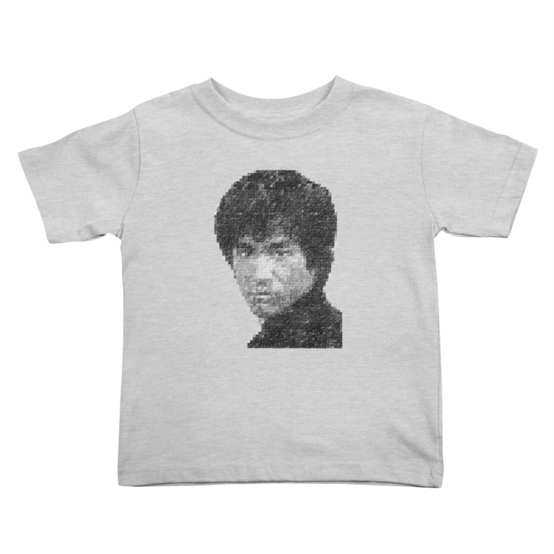 Bruce Lee (Positive Image) Kids Toddler T-Shirt by dgeph's artist shop