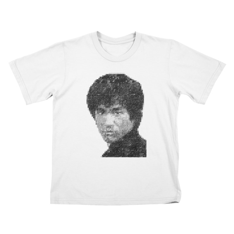 Bruce Lee (Positive Image) Kids T-Shirt by dgeph's artist shop