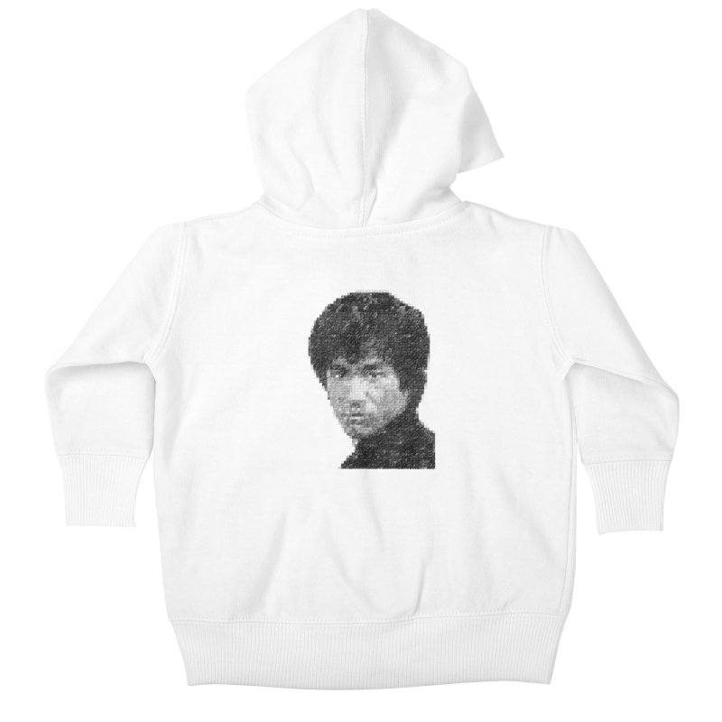 Bruce Lee (Positive Image) Kids Baby Zip-Up Hoody by dgeph's artist shop