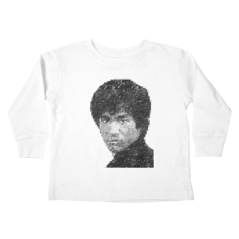 Bruce Lee (Positive Image) Kids Toddler Longsleeve T-Shirt by dgeph's artist shop
