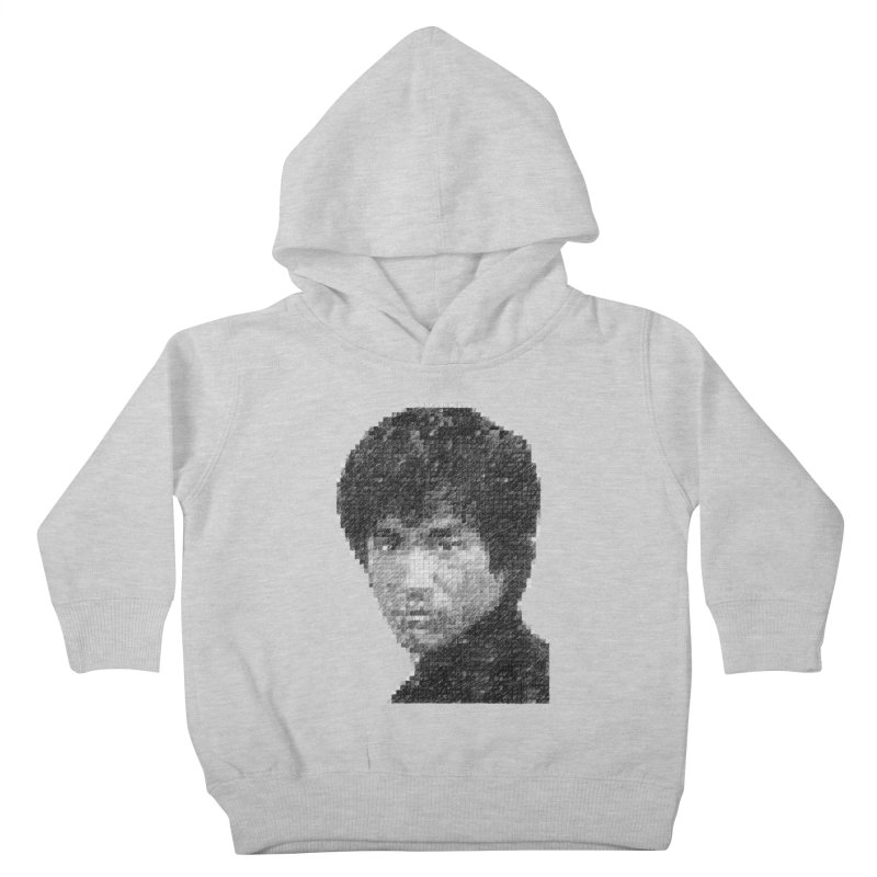 Bruce Lee (Positive Image) Kids Toddler Pullover Hoody by dgeph's artist shop