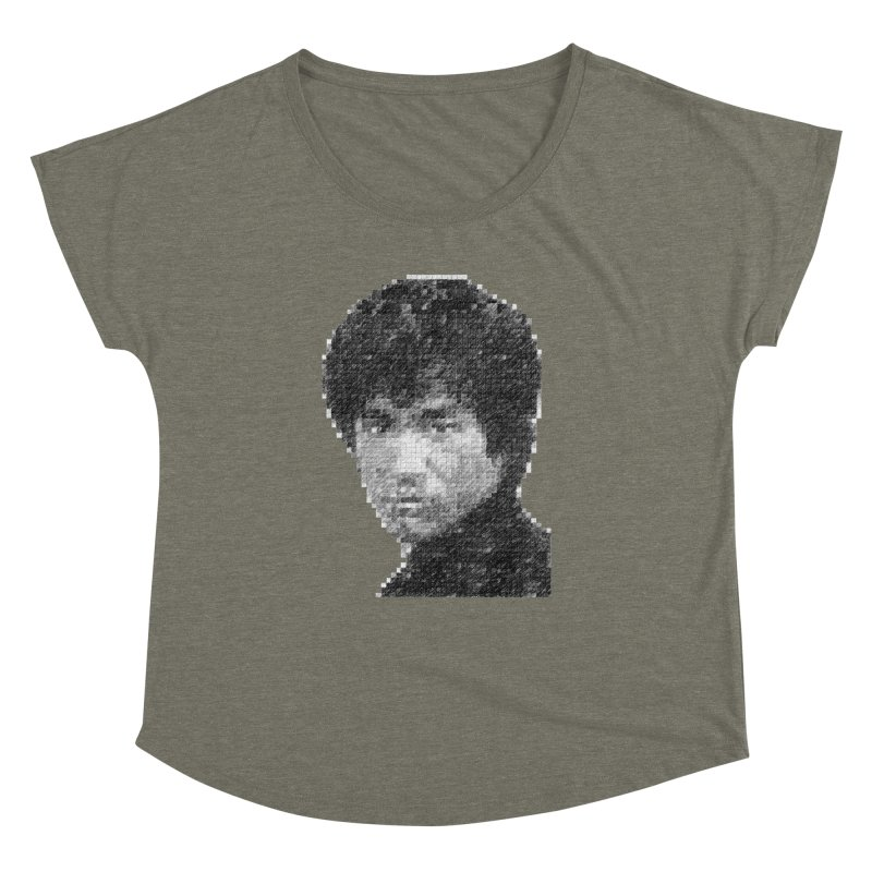 Bruce Lee (Positive Image) Women's Dolman by dgeph's artist shop