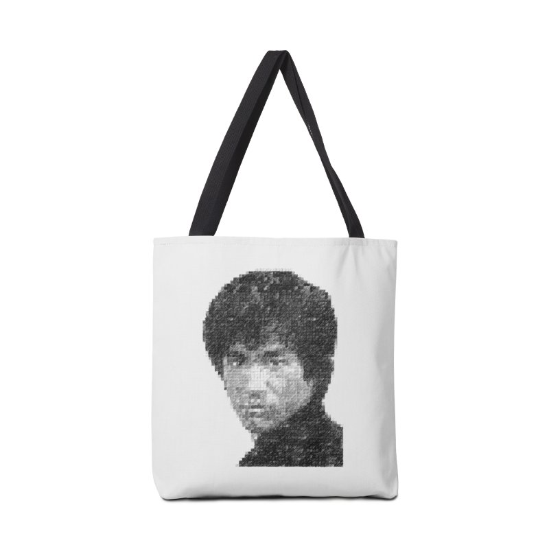 Bruce Lee (Positive Image) Accessories Bag by dgeph's artist shop
