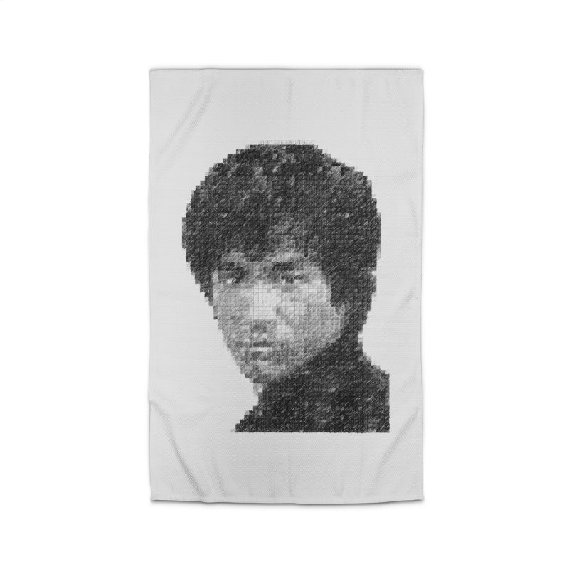 Bruce Lee (Positive Image) Home Rug by dgeph's artist shop
