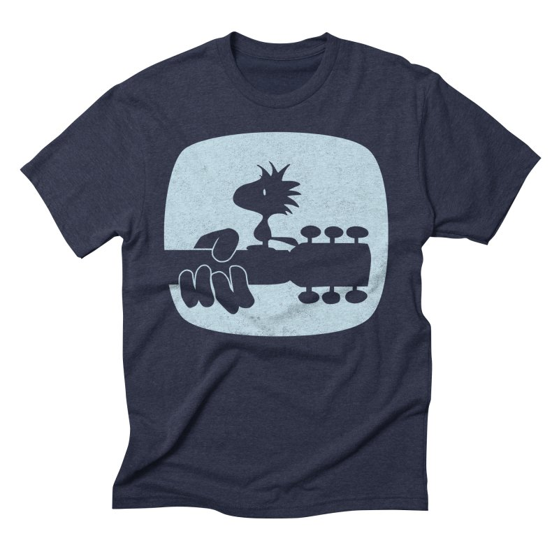 Woodstock(s) in Men's Triblend T-Shirt Navy by dgeph's artist shop