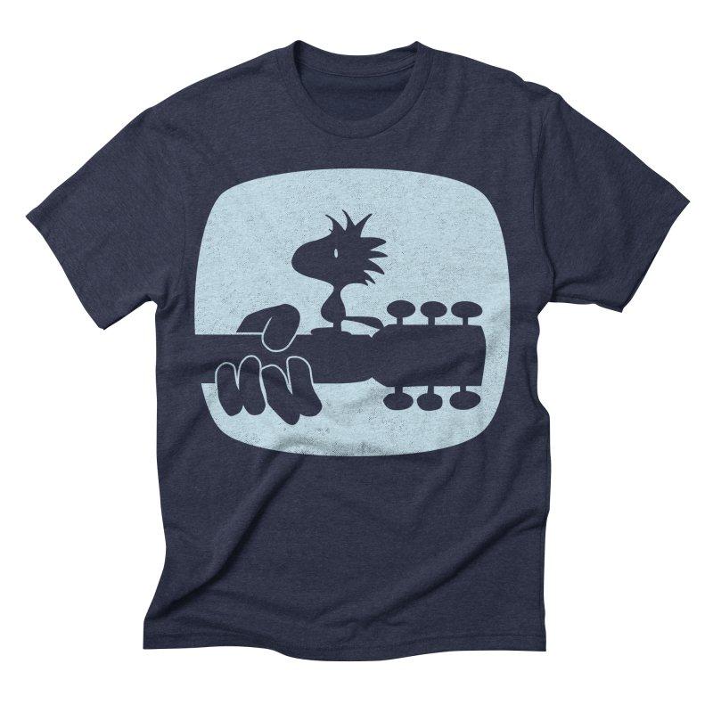 Woodstock(s) in Men's Triblend T-shirt Navy by dgeph's artist shop