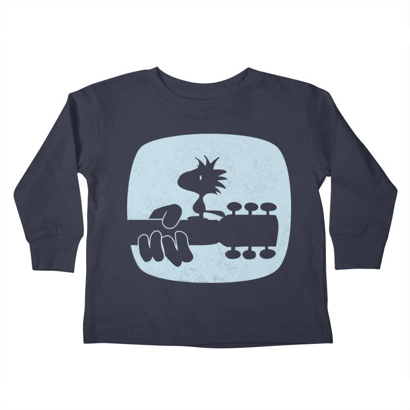 Woodstock(s) Kids Toddler Longsleeve T-Shirt by dgeph's artist shop