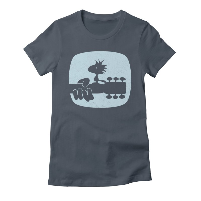 Woodstock(s) Women's Fitted T-Shirt by dgeph's artist shop