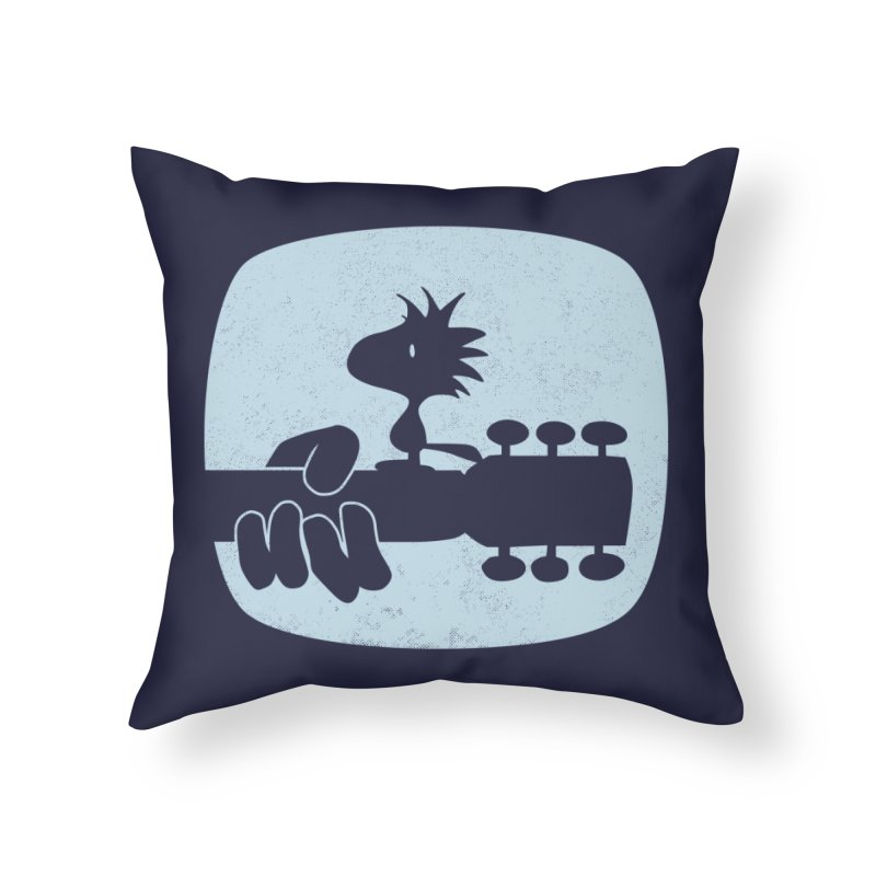 Woodstock(s) Home Throw Pillow by dgeph's artist shop