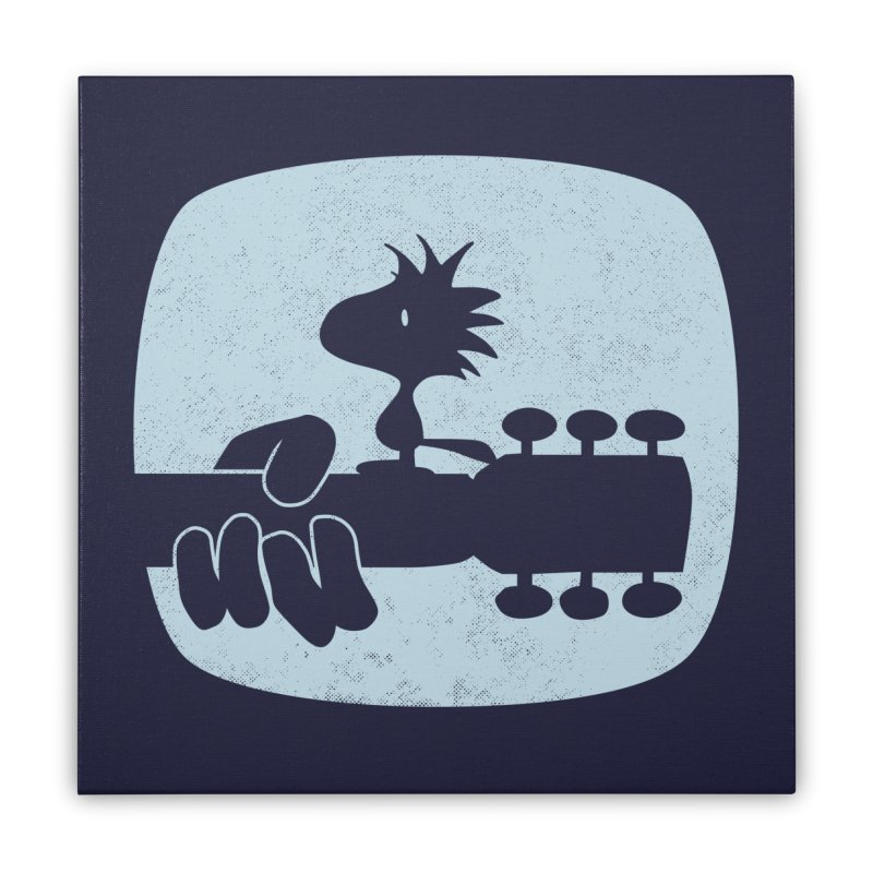 Woodstock(s) Home Stretched Canvas by dgeph's artist shop
