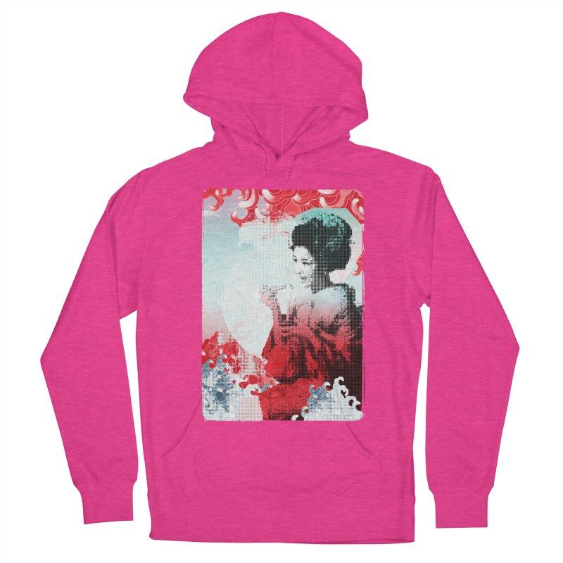Geisha 1 Women's Pullover Hoody by dgeph's artist shop
