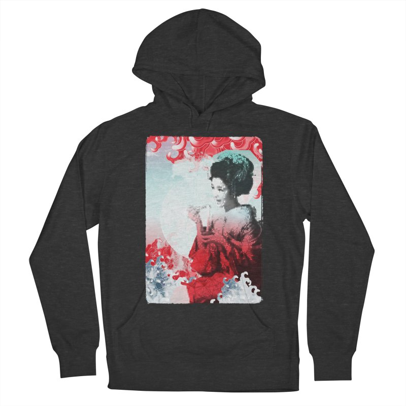 Geisha 1 Men's Pullover Hoody by dgeph's artist shop