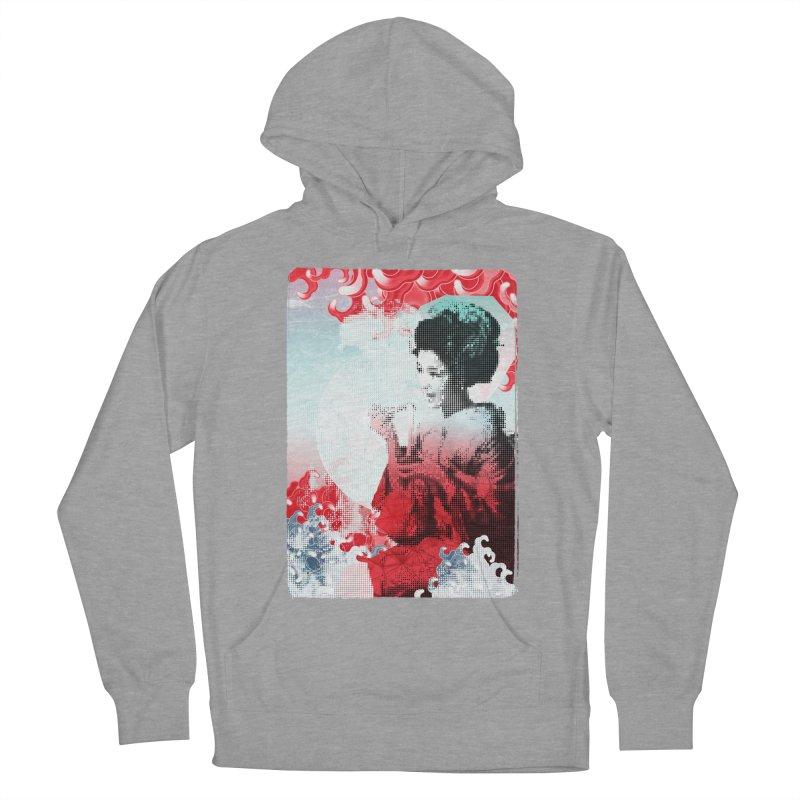 Geisha 1 Men's Pullover Hoody by dgeph's artist shop