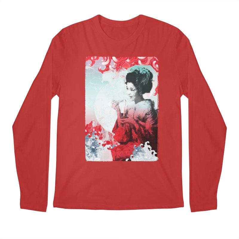 Geisha 1 Men's Longsleeve T-Shirt by dgeph's artist shop