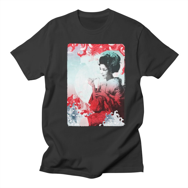 Geisha 1 Men's T-shirt by dgeph's artist shop
