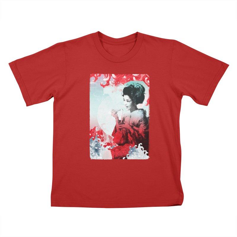 Geisha 1 Kids T-shirt by dgeph's artist shop