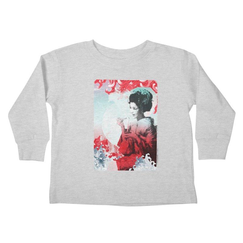 Geisha 1 Kids Toddler Longsleeve T-Shirt by dgeph's artist shop