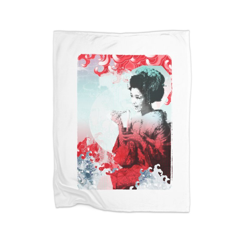 Geisha 1 Home Blanket by dgeph's artist shop