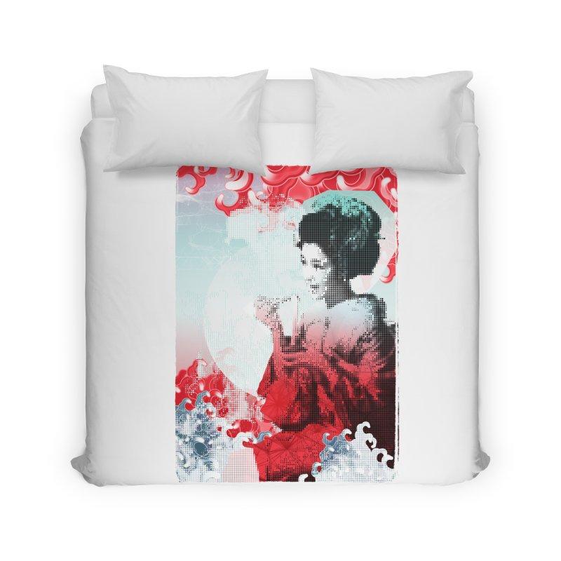Geisha 1 Home Duvet by dgeph's artist shop