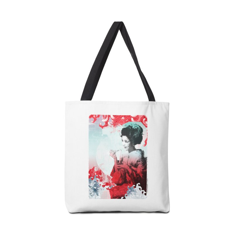Geisha 1 Accessories Bag by dgeph's artist shop
