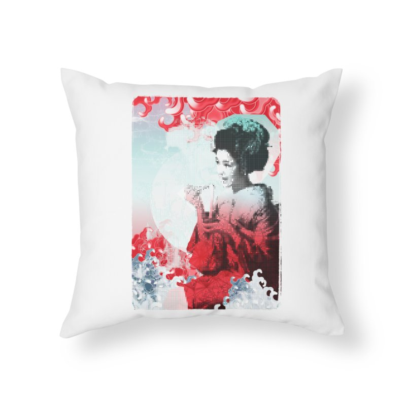 Geisha 1 Home Throw Pillow by dgeph's artist shop