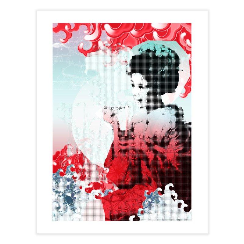 Geisha 1 Home Fine Art Print by dgeph's artist shop