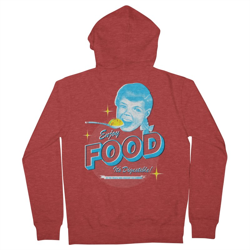 FOOD Men's Zip-Up Hoody by dgeph's artist shop