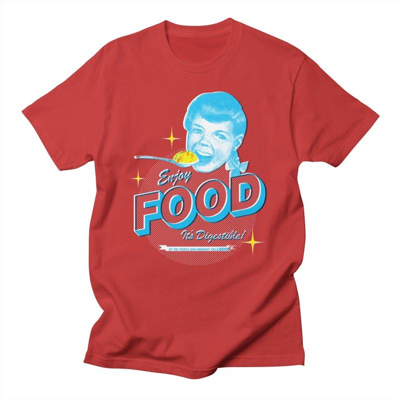 FOOD Men's T-shirt by dgeph's artist shop