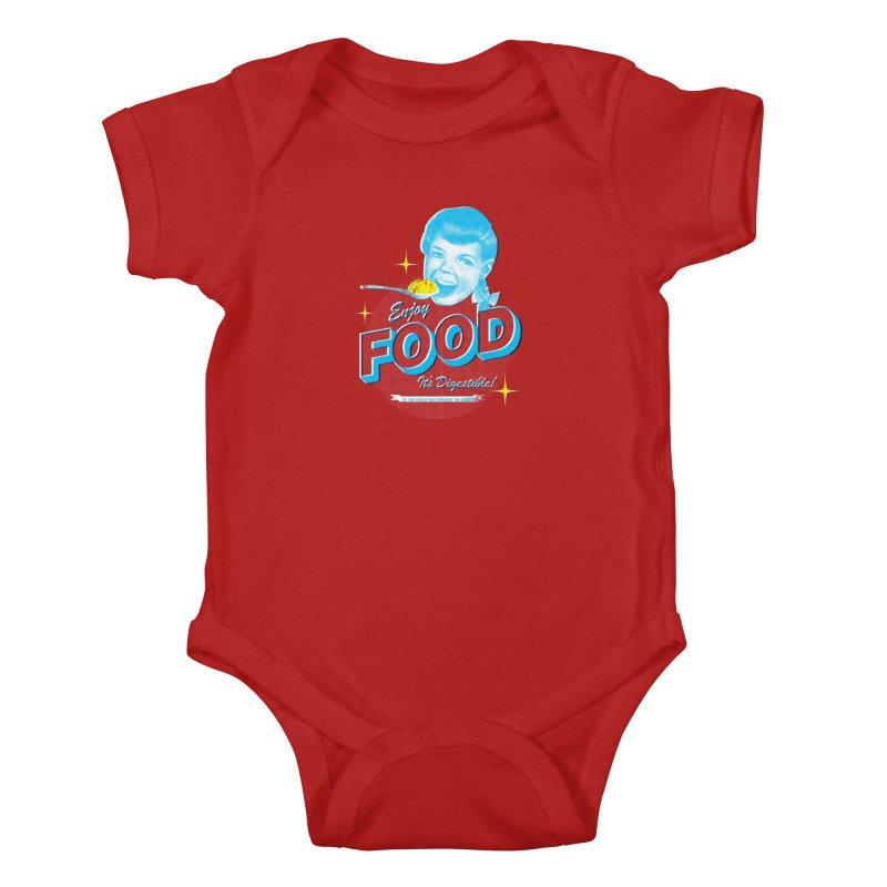 FOOD Kids Baby Bodysuit by dgeph's artist shop