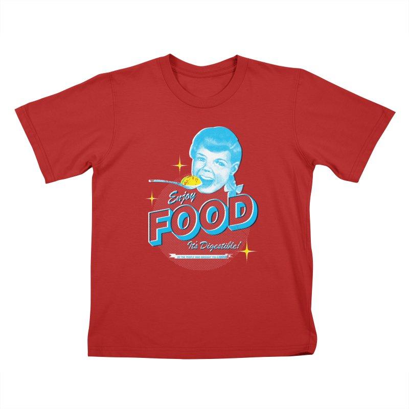 FOOD Kids T-shirt by dgeph's artist shop