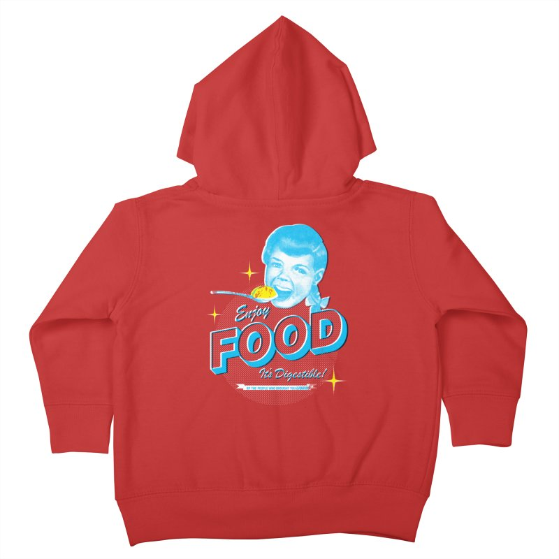 FOOD Kids Toddler Zip-Up Hoody by dgeph's artist shop