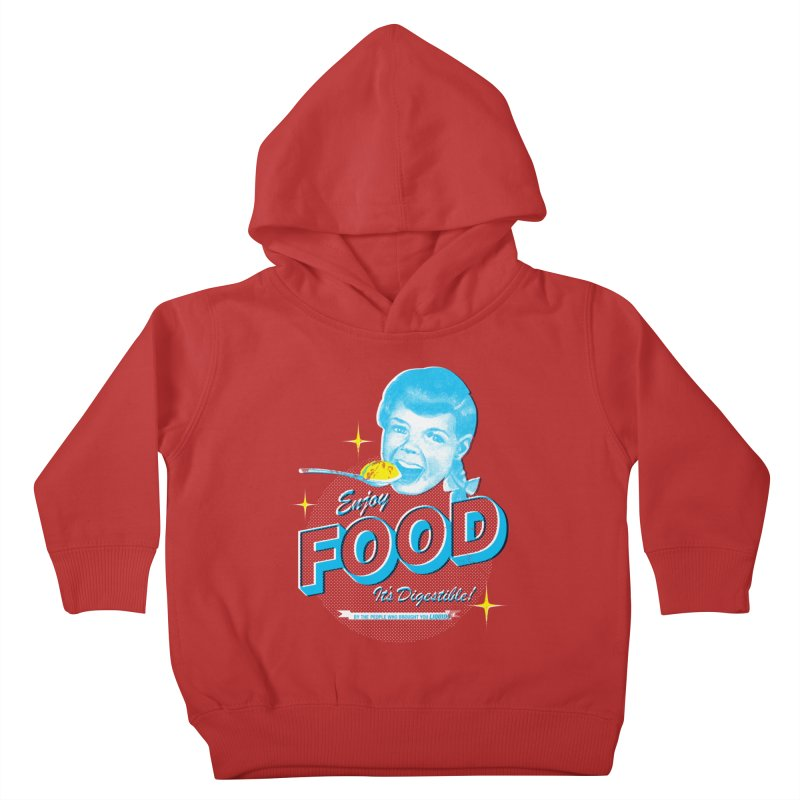 FOOD Kids Toddler Pullover Hoody by dgeph's artist shop