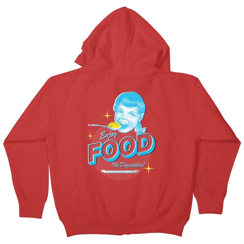 FOOD Kids Zip-Up Hoody by dgeph's artist shop