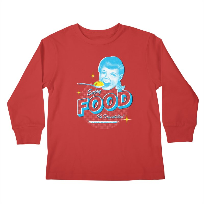 FOOD Kids Longsleeve T-Shirt by dgeph's artist shop