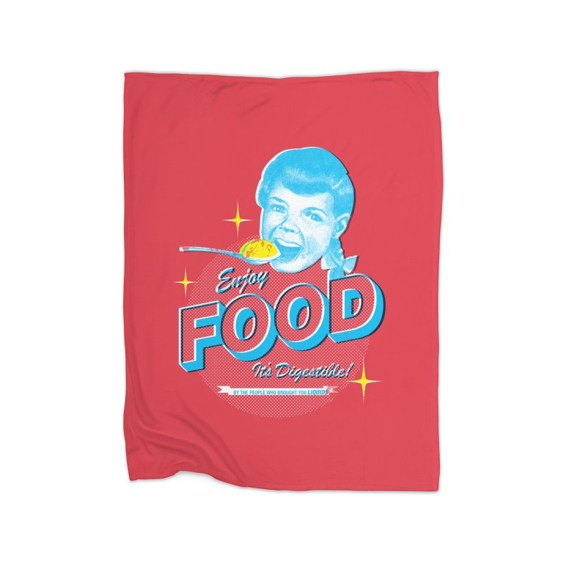 FOOD Home Blanket by dgeph's artist shop