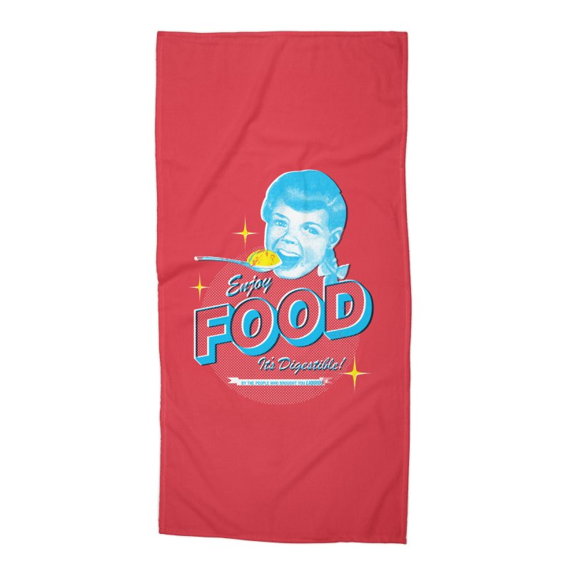 FOOD Accessories Beach Towel by dgeph's artist shop