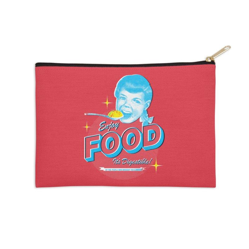 FOOD Accessories Zip Pouch by dgeph's artist shop