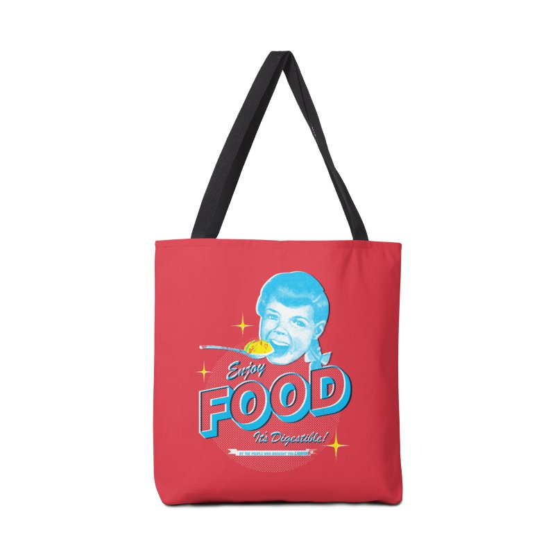 FOOD Accessories Bag by dgeph's artist shop