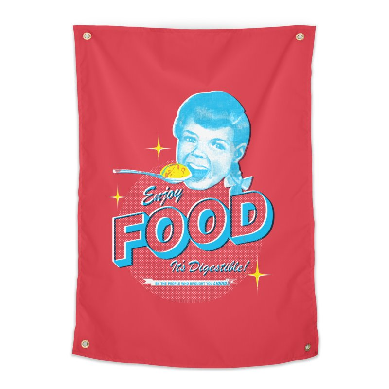 FOOD Home Tapestry by dgeph's artist shop