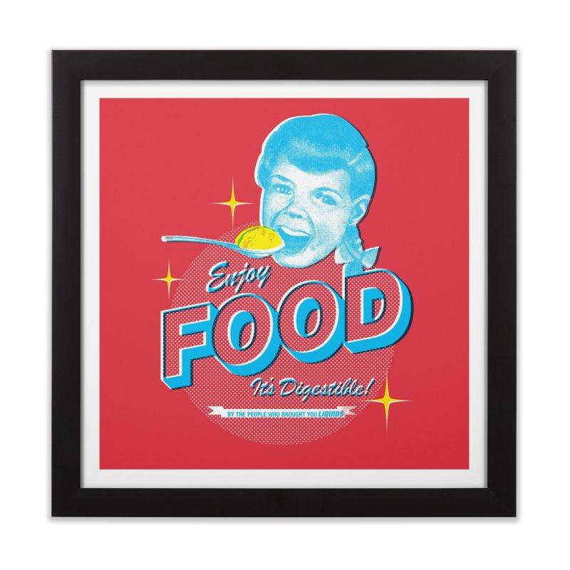 FOOD Home Framed Fine Art Print by dgeph's artist shop