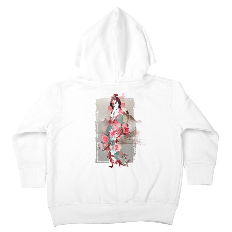 Geisha 2 Kids Toddler Zip-Up Hoody by dgeph's artist shop