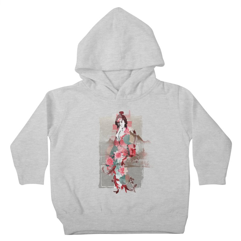 Geisha 2 Kids Toddler Pullover Hoody by dgeph's artist shop