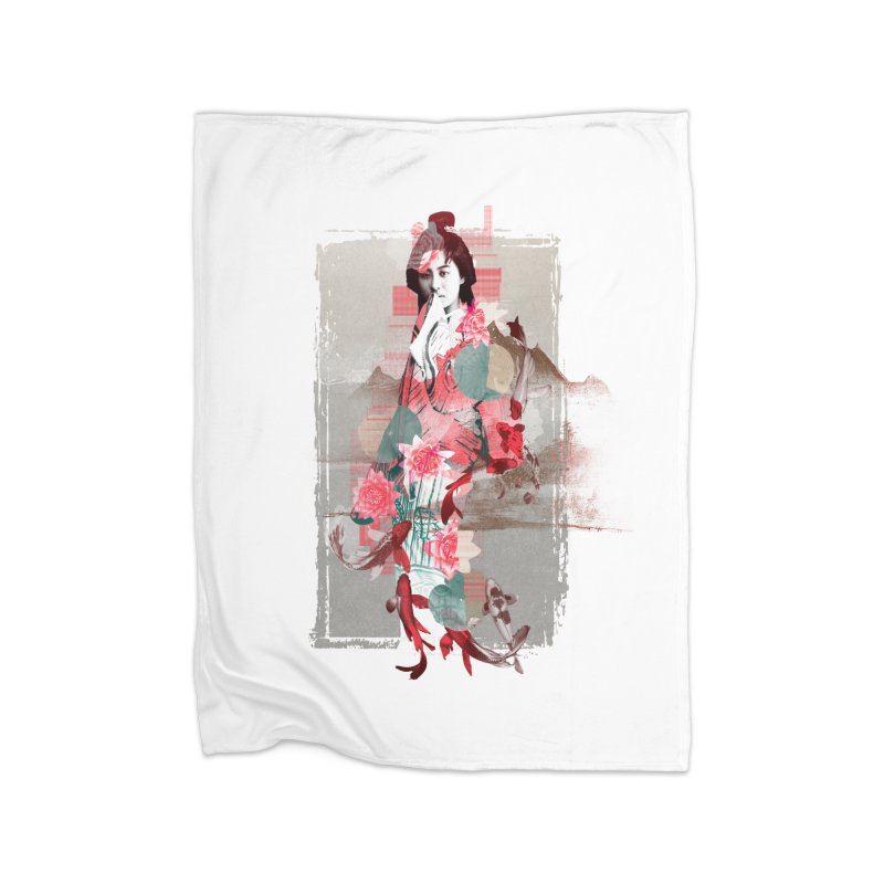 Geisha 2 Home Blanket by dgeph's artist shop
