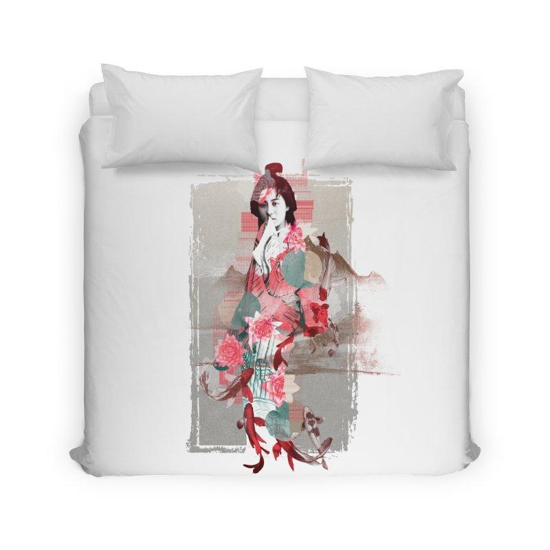 Geisha 2 Home Duvet by dgeph's artist shop