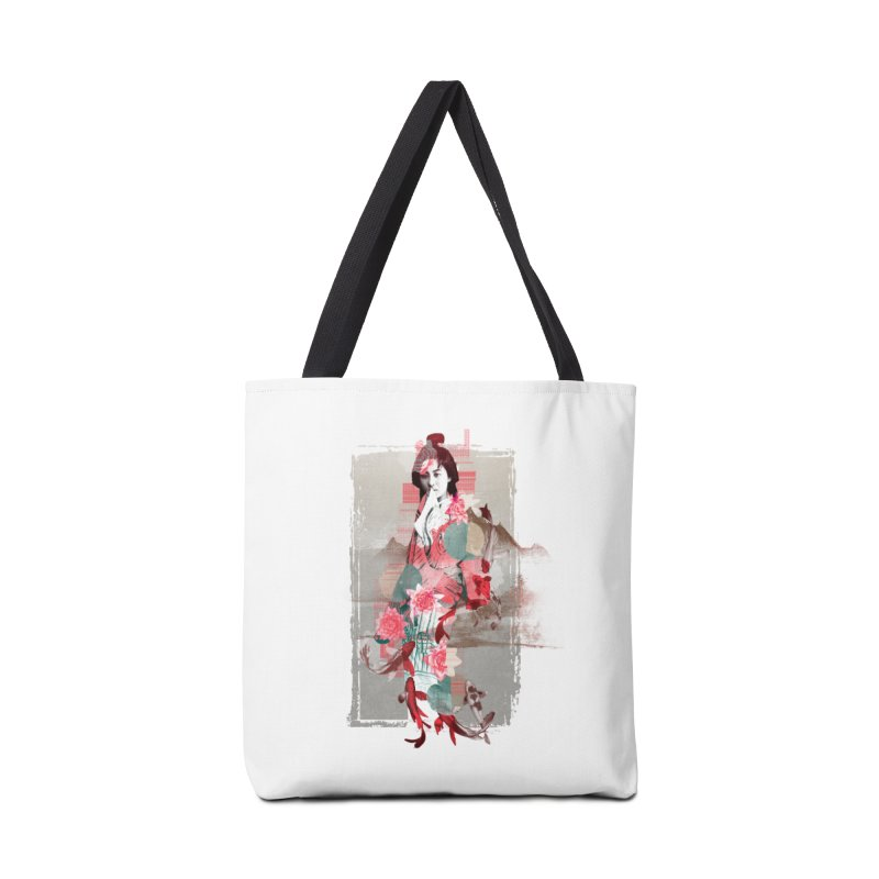 Geisha 2 Accessories Bag by dgeph's artist shop