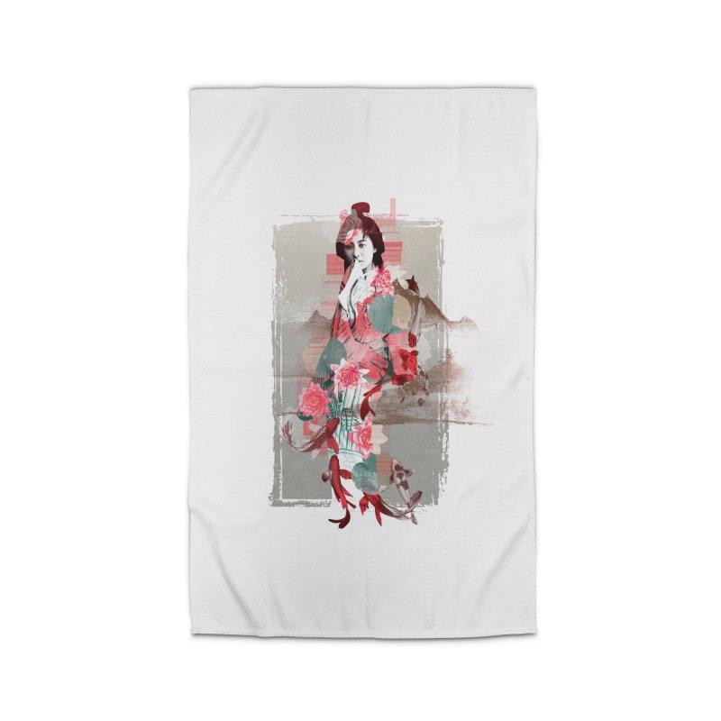 Geisha 2 Home Rug by dgeph's artist shop