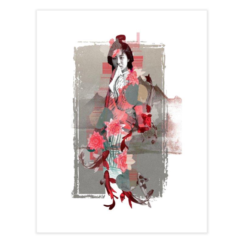 Geisha 2 Home Fine Art Print by dgeph's artist shop