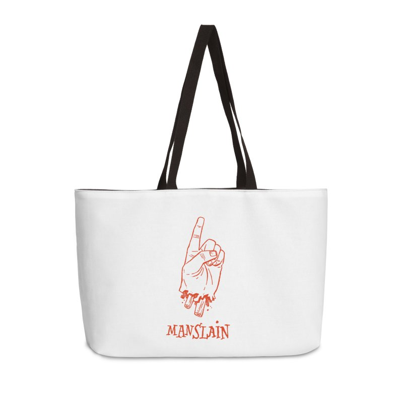 MANSLAIN Accessories Weekender Bag Bag by Dustin Harbin's Sweet T's!